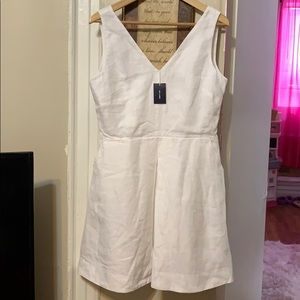 Gap white linen Dress